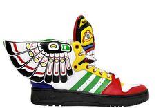 Adidas Originals Jeremy Scott Wings Totem indien