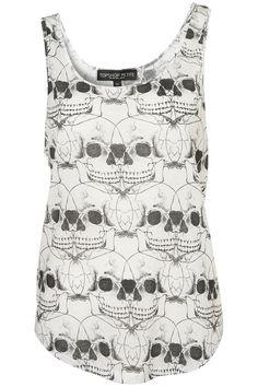 Ugh, I love it. I will never be over skulls.