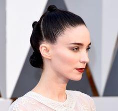 Rooney Mara 2016 Oscars hairstyle