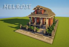 Melrose - Victorian House Minecraft Project