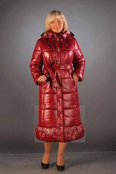 Výsledek obrázku pro shiny long women coat