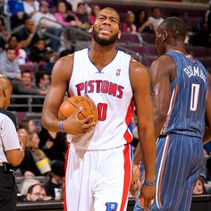 Greg Monroe wasn't interested in sharing the basketball against the Bobcats, grabbing a career-high 20 points in the Pistons' win.