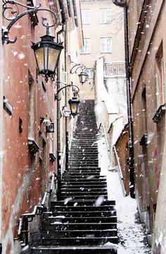 Warsaw, Poland. this is my dream. i just want to walk in it and never stop.