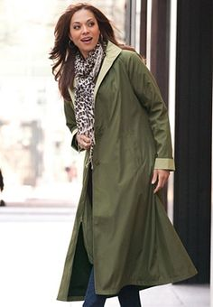 Long Silk Look Raincoat and other Womens Outerwear. | Appleseeds