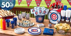 MLB Chicago Cubs Party Supplies #PartyWithMLB