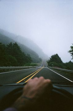 Just me and the road.
