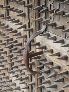 """Nothing says """"WELCOME My Home"""" quite like a few hundred sharpened spikes greeting guests at the front door."""