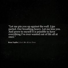 Beau Taplin | Let Me Kiss You