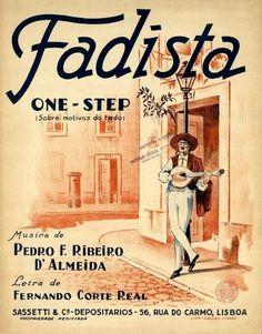 Vintage fado poster 1930