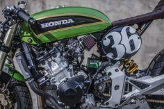 Honda Hornet Cafe Racer (4)