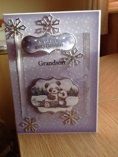 Grandson Christmas Card.