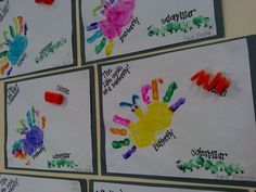 Preschool art- The life cycle of a butterfly!