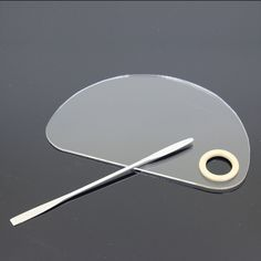Half Circle Makeup Nail Art Palette Stainless Steel Rod Spatula Tools Clear Acrylic | $ 12.00 | Item is FREE Shipping Worldwide! | Damialeon | Check out our website www.damialeon.com for the latest SS17 collections at the lowest prices than the high street | FREE Shipping Worldwide for all items! | Get it here http://www.damialeon.com/half-circle-makeup-nail-art-palette-stainless-steel-rod-spatula-manicure-tools-clear-acrylic-gel-foundation-pigment/ |      #damialeon #latest #trending…