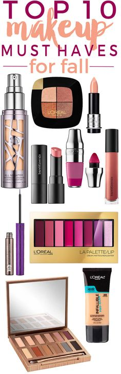 10 NEW Makeup Must-Haves for Fall.