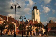 Sibiu in Transylvania, Romania via CamilG Romania Tourism, Romania Travel, Most Beautiful Cities, Wonderful Places, Transylvania Dracula, Transylvania Romania, Sibiu Romania, Cultural Capital, Exotic Places