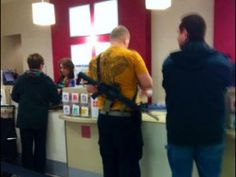 """Man Shopping With Rifle, Glock at Utah JC Penney """"Pretty Much an Idiot"""""""
