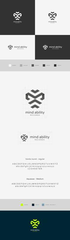 Logo design & branding for Mind Ability Records on Behance