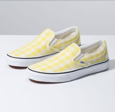 Vans Classic Slip-On shoes. The original waffle bottom slip on skate shoe that started it all since Forever imitated, never duplicated. Top Shoes, Vans Shoes, Mules Shoes, Slip On Shoes, Women's Shoes Sandals, Me Too Shoes, Vans Sneakers, Converse, Clarks