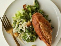 Traditional Caesar Salad Recipe - Genius Kitchen