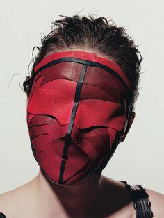 Peter Phillips' Leather Masks   Trendland: Fashion Blog & Trend Magazine