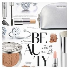"""""""My Beauty Secrets"""" by totwoo ❤ liked on Polyvore featuring beauty, MICHAEL Michael Kors, Trish McEvoy, Stila, By Terry, MAC Cosmetics and Cover FX"""