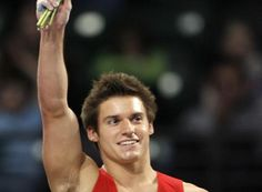 """Sam Mikulak gets a """"gold medal"""" in attitude and sportsmanship. After Korea vaulted he said """"give me a hug man that was ridiculous!"""""""