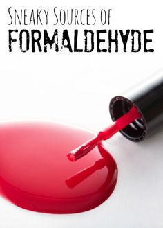 Apparently keeping embalming ingredients out of your home is harder than you imagined. #formaldehyde #detox
