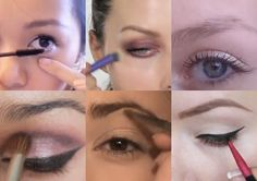 Discover 12 must-see eyeshadow tutorials for 2017 and learn how easy it is to have a different eyeshadow look every day of the week. Kiss Makeup, Love Makeup, Makeup Inspo, Makeup Inspiration, Makeup Looks, Pretty Makeup, Health And Beauty Tips, Beauty Make Up, Shadow Video