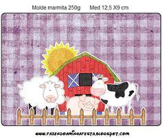 Fazendinha Menina - Kit Completo com molduras para convites, rótulos para guloseimas, lembrancinhas e imagens!