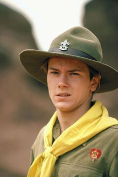 River Phoenix as young Indiana Jones in The Last Crusade
