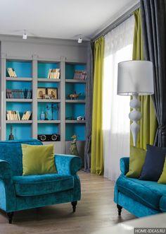 Серый цвет в интерьере разных комнат квартиры: фото