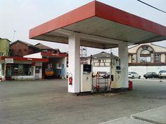 Petrol Station in Lagos, Nigeria