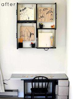 Shelves from draws