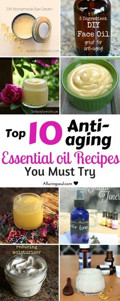 Eliminate Your Acne Tips-Remedies - essential oil recipe to get rid of wrinkles, age spots, dry skin and puffy eyes. Makes skin soft, smooth and hydrated by providing essential nutrients to skin. Check out how they can help you. Creme Anti Age, Anti Aging Cream, Best Anti Aging, Anti Aging Skin Care, Homemade Eye Cream, Homemade Butter, Diy Masque, Puffy Eyes, Prevent Wrinkles