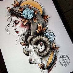 Find the perfect tattoo artist to create the work of art that is you Neo Tattoo, Tatto Old, Dark Tattoo, Neo Traditional Art, Traditional Tattoo Design, Body Art Tattoos, Hand Tattoos, Sleeve Tattoos, Girl Face Tattoo