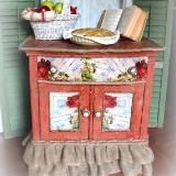 Linked to: sweetinspirationsbyjpdesigns.blogspot.com/2012/09/a-rustic-shabby-glam-washstand.html