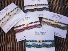 Macrame Rings, Macrame Knots, Micro Macrame, Macrame Jewelry, Macrame Bracelets, Braided Bracelets, Love Bracelets, Handmade Bracelets, Handmade Jewelry