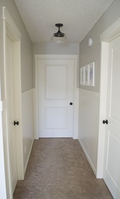 Update Your Hallway ~ 2 Easy Ways | The Hatched Home