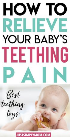 Teething can be a tough stage for a baby. They are in pain but don't know how to express themselves or communicate why they are hurting. Here is how you can identify if your baby or toddler is teething and the best strategies to help give them some relief Teething Chart, Best Teething Toys, Teething Babies, Baby Teething Remedies, Baby Care Tips, Baby Tips, Baby Supplies, Baby Arrival, Baby Development