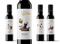 Te presentamos 25 diseños muy creativos, llenos de originalidad y genialidad de packaging de aceite de oliva virgen extra. Wine Bottle Design, Wine Label Design, Wine Packaging, Packaging Design, Organic Wine, Wine And Spirits, Fine Wine, Olive Oil, Bar