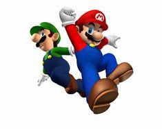 Mário e Luigi, os irmãos encanadores inseparáveis! Confira também Jogos do Mário (Online & Grátis) em: http://www.jogoson.com.br/jogos-do-mario/