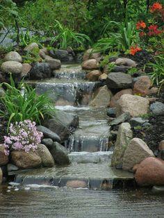 50+ Beautiful Water Garden Ideas Outdoor_43