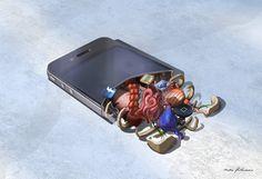 A anatomia de um gadget, do artista Mads Peitersen