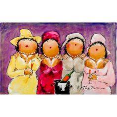 Dikke Dames Schilderij High...