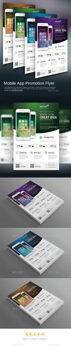 Flash Marketing Flat Design Flyer  Flyer Templates On Creative