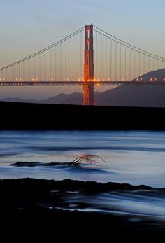 The Golden Gate Bridge ~ San Francisco, California