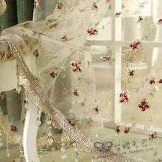 Sheer Curtains with lace