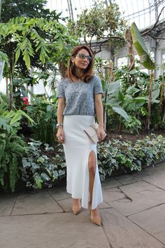 Slit Skirt – MODE DELINA