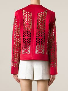 (Could use filet crochet) - Shrug Cardigan, Cardigans, Sweaters, Filet Crochet, Laser Cutting, Vests, Blazers, London, Paper