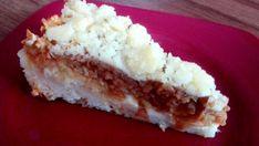 Hrníčkový jablečný koláč s drobenkou